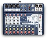 声艺 Notepad-12FX Soundcraft 主播调音台 声卡自带USB音频接口
