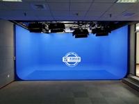 小型演播室建设 部队新闻访谈直播室 虚拟演播室厂家