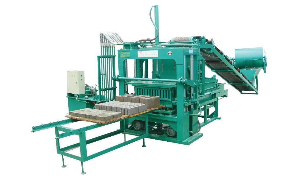 全自动水泥砖机 4-40小型水泥砖机厂家 免托板免烧砖机