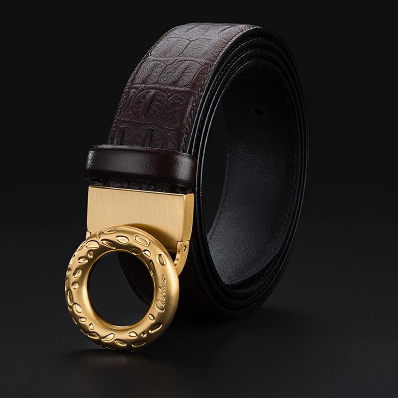 品牌腰带厂家批发工厂 真皮高档皮带