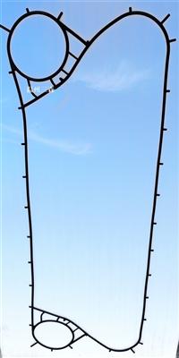 三森板式换热器橡胶垫密封垫BR1.1挂