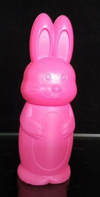 儿童玩具吹塑 兔形玩具瓶 设计美观