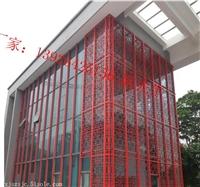 外墙方管格栅 铝方管屏风生产厂家
