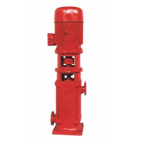 多级泵结构图 XBD15.0/40G-GDL立式消防泵