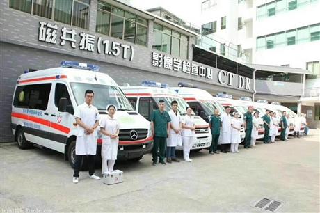 佛山私人长途救护车出租中心
