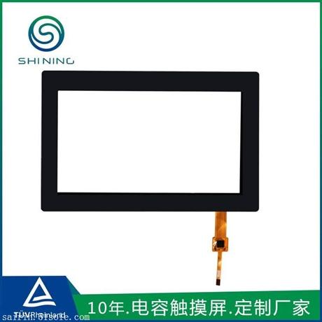 7寸电容式触摸屏 苏州触摸屏厂家生产 工控安防电容屏