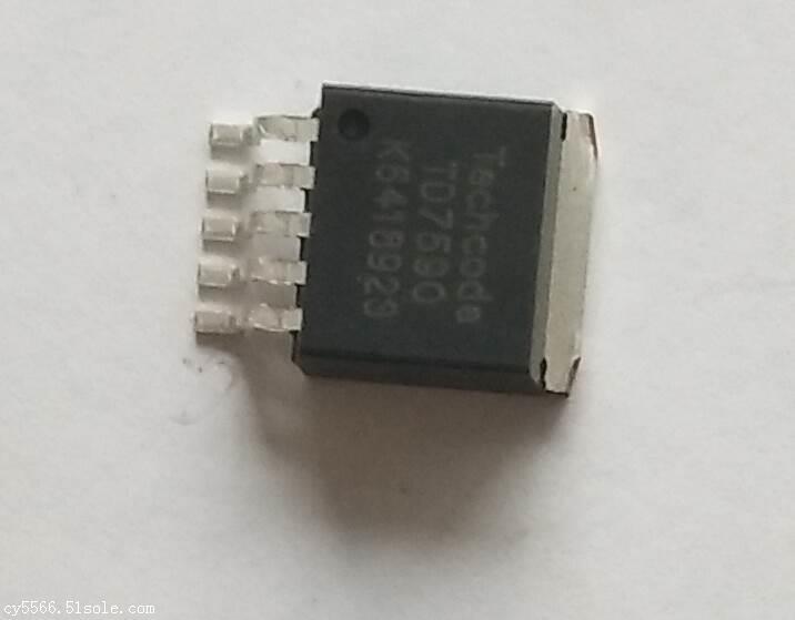 充电器IC 5A 240KHZ 36V PWM降压型TD7590