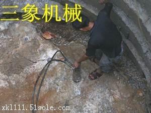 河南钢筋混凝土岩石劈裂机可以水下工作