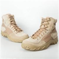 511中腰作战靴 CQB沙漠军靴户外鞋真皮登山鞋 特种兵战术靴
