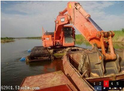 水陆挖掘机出租公司