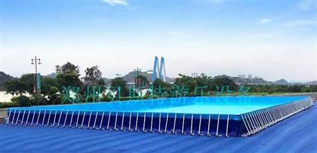 水上乐园厂家定做支架游泳池价格优惠夏季爆款
