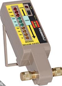 omega带LED读出的电子真空计DVG-60