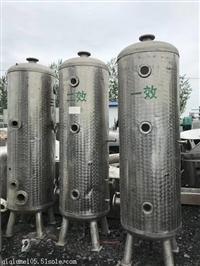 低价出售二手三效多效强制循环蒸发器