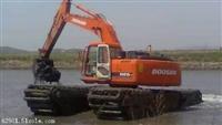 湖北省随州市水陆挖掘机租赁价格