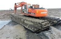 水陆挖掘机出租月租价格