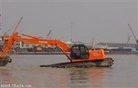 广东省梅州市水上挖掘机出租价格