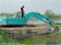 水陆挖掘机出租怎么收费