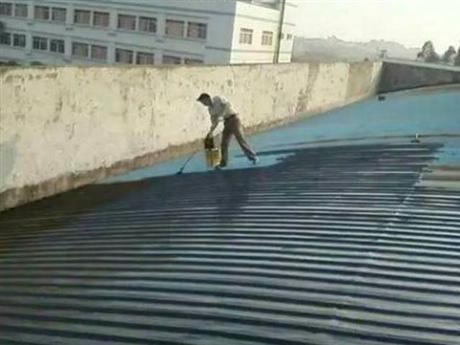 中山防水补漏金属钢结构除锈防腐防锈翻新维修