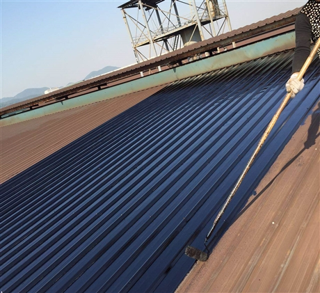 中山厂房防水补漏钢结构金属除锈防腐防锈翻新