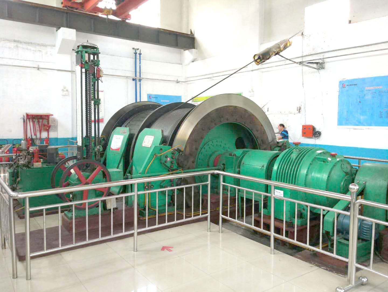 2JK-3.5*1.7单绳缠绕式矿井提升