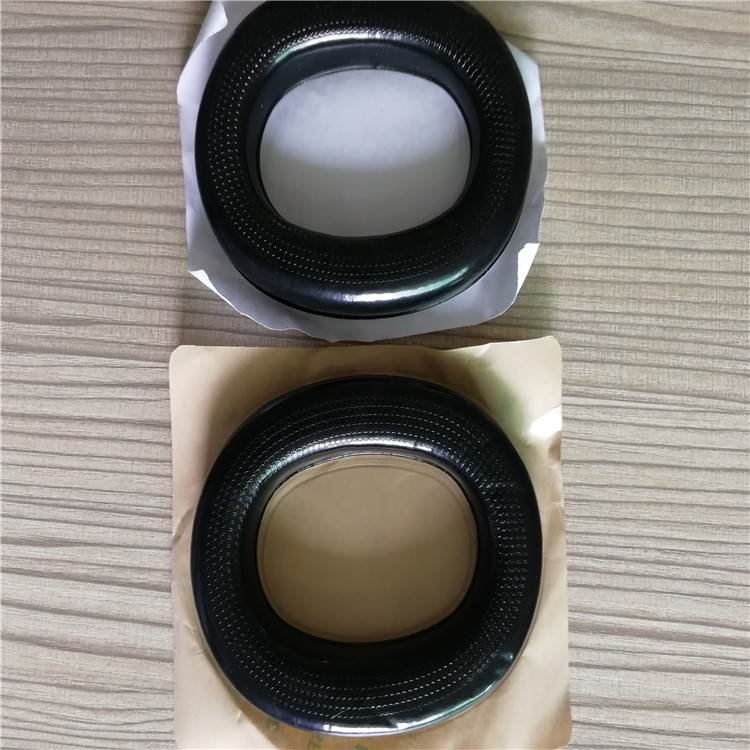 专业订做TPU晒纹吸塑皮耳套 美观舒适背胶安装方便
