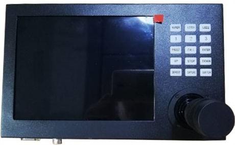 VGA车载终端键盘 8寸车载终端显示控制一体化键盘