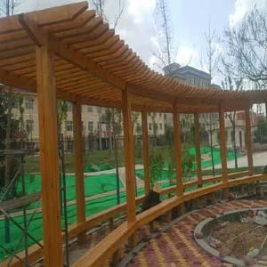 供甘肃兰州防腐木廊架,兰州防腐木廊架公司