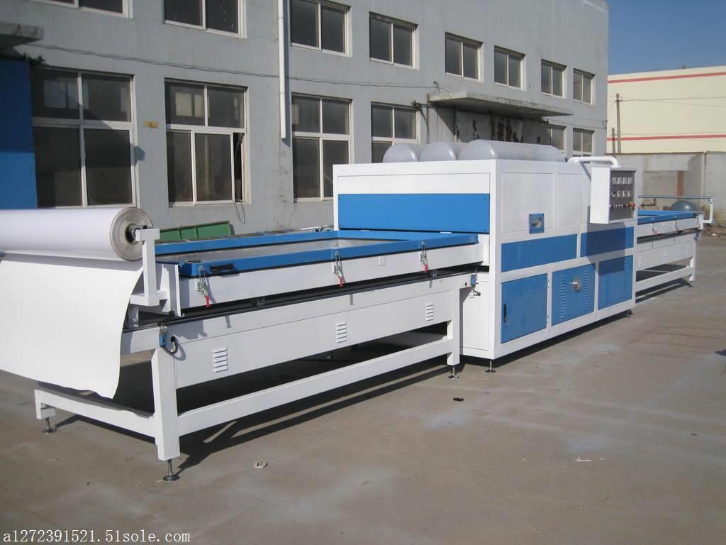 济南佳梆 全自动双工位真空覆膜机 板式家具生产线