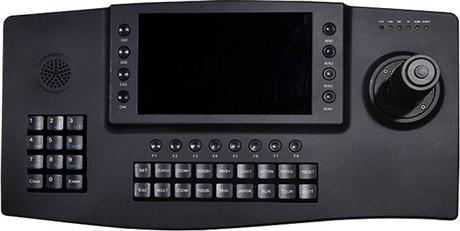 派尼珂NK-NT1607KDEC7寸屏带图文显示高清网络解码控制键盘