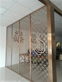 定制不锈钢屏风 复古欧式不锈钢酒架落地式不锈钢酒柜