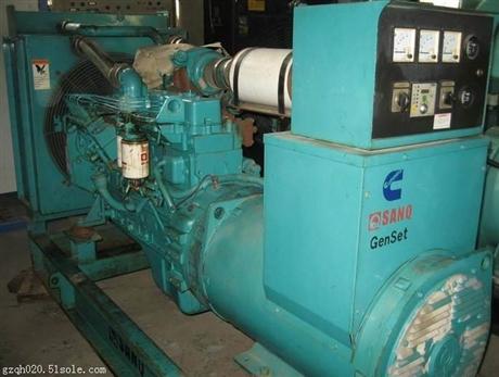 75千瓦发电机出租