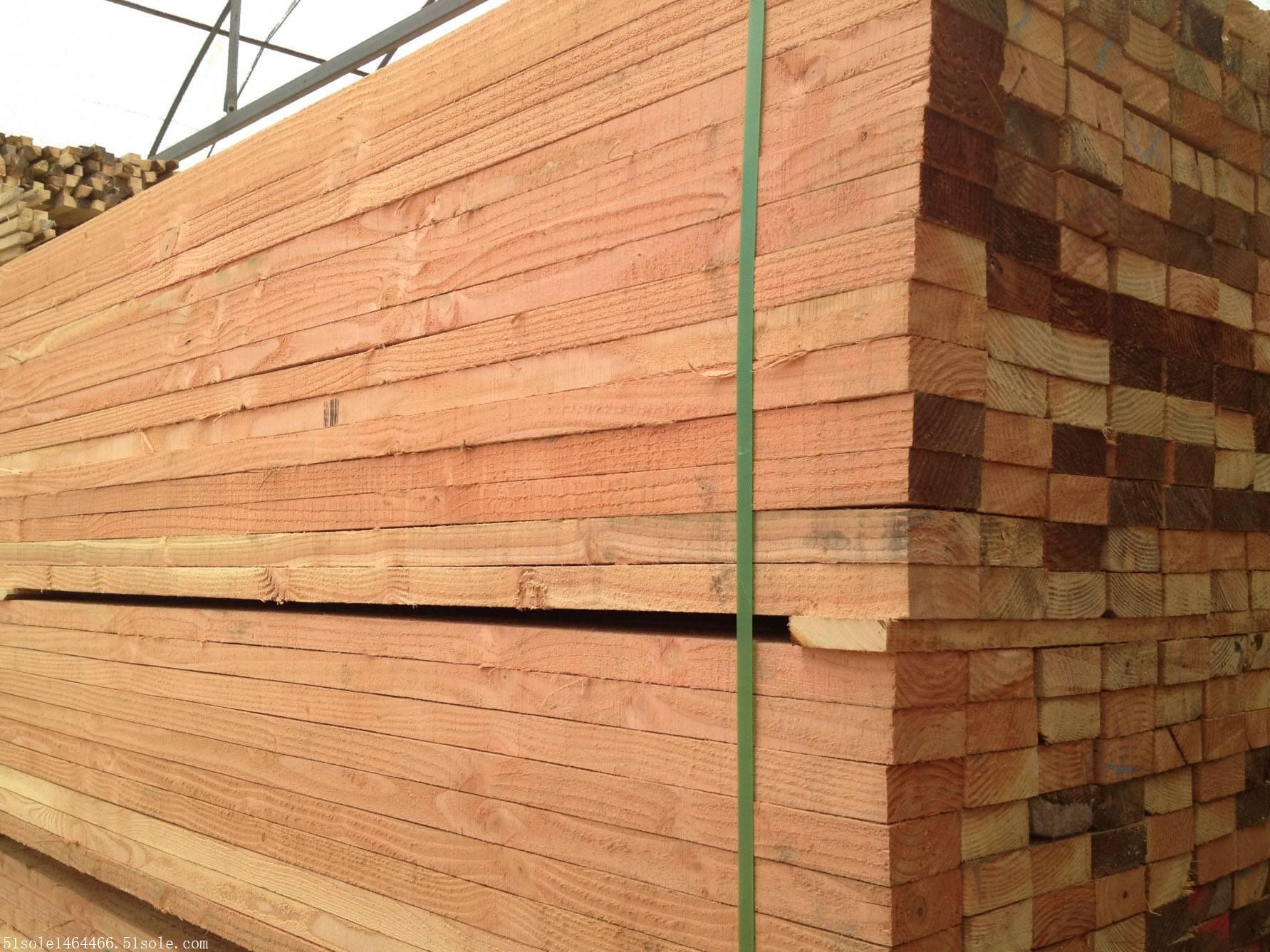 建筑木方贸易价格 花旗松木方