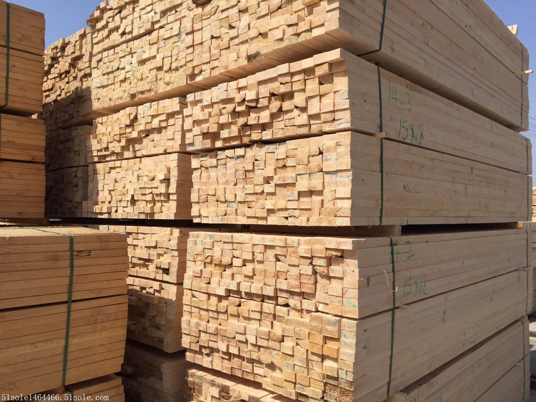 工地用辐射松 建筑木方 建筑口料 厂家销售