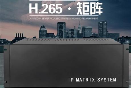 矩阵切换器 派尼珂16屏H.265网络解码矩阵厂家500MP-1600L-16