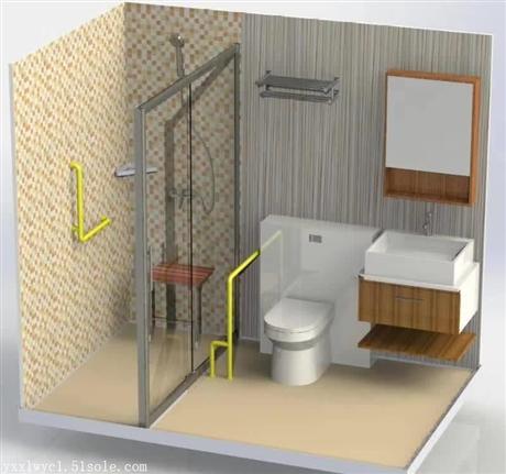青岛整体卫浴,新型环保整体卫浴如何避免误解做到整体协调