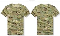 广州生产厂家雄鹰战士军品户外迷彩T衫