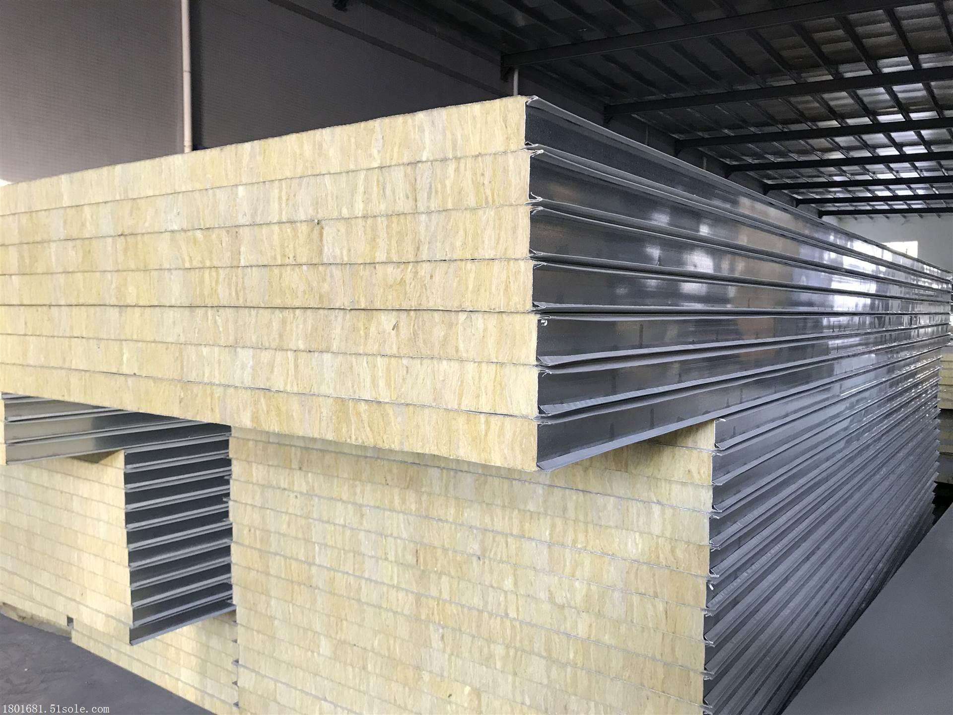 岩棉彩钢板批发 东莞彩钢板生产厂家