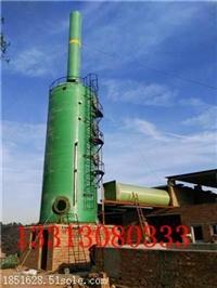 玻璃钢脱硫塔一般采用双碱法|砖厂脱硫塔厂家