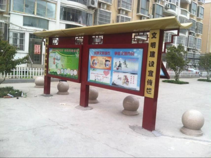 洛阳江苏宣传栏厂家直销、款式新颖