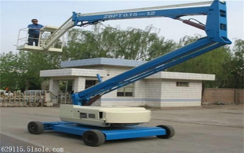 曲臂式升降平台载重量大,平台面积大,稳定性极好