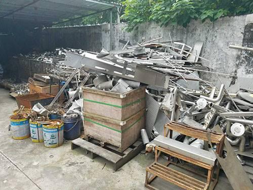 广州废不锈钢回收多少钱一斤