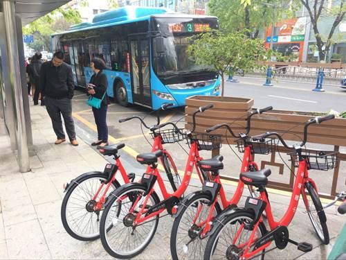 城市工业园区共享单车APP开发 亦强科技