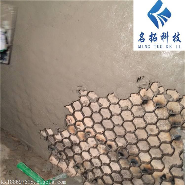 龟甲网焊接耐磨陶瓷涂料 管道防腐蚀防磨耐磨胶泥