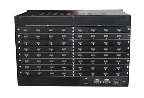 矩阵切换器 派尼珂32进32出HDMI矩阵系统NK-MS6332HDMI