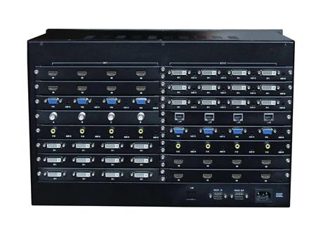 矩阵切换器 派尼珂大型24进24出高清无缝混合矩阵NK-HD6324SHM