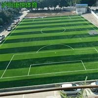 泸州专业足球场人造草施工 休闲运动草坪 仿真人造草皮 包工包料