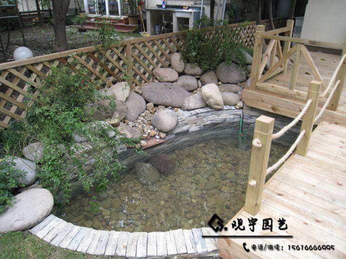 长沙假山鱼池设计是怎么收费的