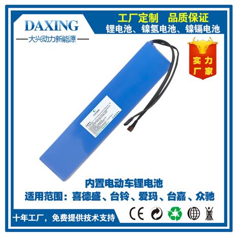 厂家爆款直销喜德盛台铃松吉锂电池36V48V可定制锂电池