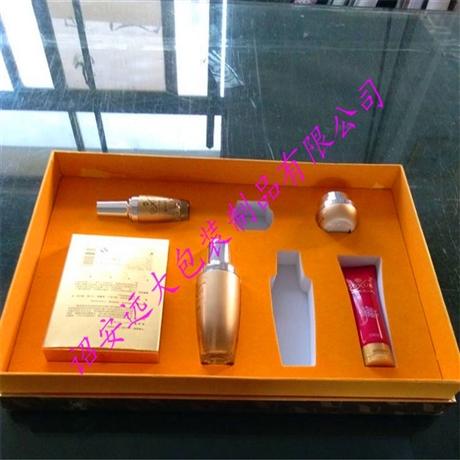 化妆品包装盒内衬雕刻工艺