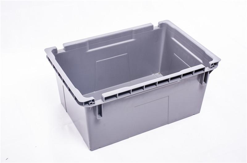 620-290欧标铁柄箱-塑料周转箱